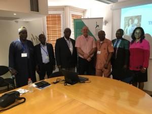 הרצאה לנציגים מאפריקה